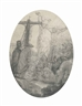 Rembrandt van Rijn, Christ Crucified Between the Two Thieves: An Oval Plate