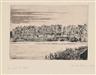 James Ensor, Le Pont du Bois à Ostende