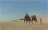Charles-Théodore Frère, Une caravane, Désert d'Arabie