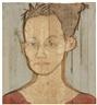 Stephan Balkenhol, Großes Kopfrelief: Frau