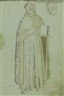 Fra Angelico, A Dominican friar, with a subsidiary study of his head
