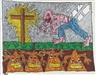 Robert Combas, La croix