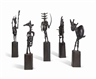 Germaine Richier, Set of 11 ; L'Echiquier, grand
