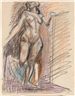 Max Gubler, Standing Female Nude