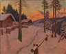 Mikhail Guermacheff, Snowy Day