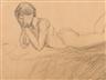 Hans Purrmann, Reclining Nude