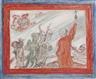 James Ensor, Diables turlupinant un religieux