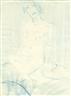 Otto Mueller, Sitzender Akt