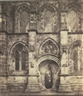 Roger Fenton, ROSSLYN CHAPEL: SOUTH PORCH