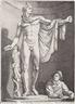 Hendrick Goltzius, Apollo Belvedere (Apollo Pythius)
