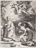 Hendrick Goltzius, The annunciation from The Early Life of the Virgin