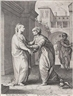 Hendrick Goltzius, The visitation, from The Early Life of the Virgin