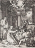Hendrick Goltzius, The adoration of the shepherds from: The Early Life of the Virgin