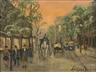 Louis van der Pol, Street Scene
