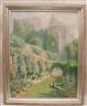 Edmund Henry Garret, Garden with Peacock