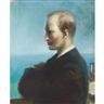 Guy Pène du Bois, PORTRAIT OF A MAN, THOUGHT POSSIBLY TO BE CHESTER DALE