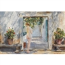 John Whorf, SUMMER (THE COURTYARD)