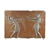 "Malvina Hoffman, Nine frieze polychrome plaster panels of ""Anna Pavlova and Mikhail Mordkin performing Alexander Glazunov's ballet 'Bacchanale'"""