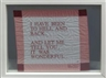 Louise Bourgeois, I have been to hell and back