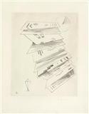 Second etching for Editions Cahiers d'art