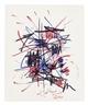Georges Mathieu, Tachistic composition