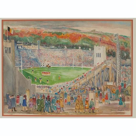 Palmer Hayden Michie Stadium West Point Circa