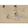 Henri Lebasque, Studies of Female Nudes