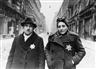 Yevgeny Khaldei, Jewish Couple, Budapest