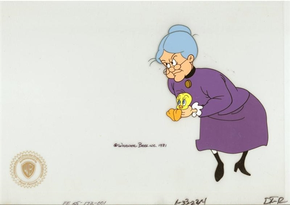 Brothers Warner Granny And Tweety In Looney Looney Bugs Bunny