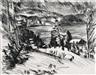 Lovis Corinth, 2 works: Gebirgssee; Bank im Walde