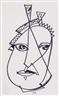 Hannah Höch, Self portrait (?)