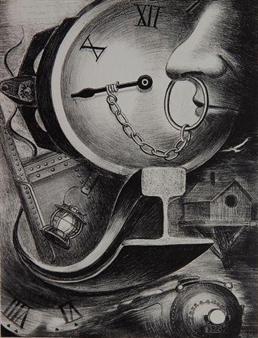 Clock By Lamar Baker ,1936