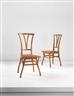 "Henry van de Velde, Pair of ""Bloemenwerf"" chairs"
