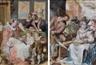 Hendrick Goltzius, Two works: Le matin; Le midi