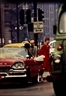 William Klein, Anne St. Marie + Cruiser, New York (Vogue)