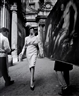 William Klein, Simone + Painting + Coffee, Rome (Vogue)