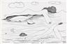 Maurice Henry, 2 works; Paysage féminin XXXII [Female landscape XXXII] (no. 2815) & Paysage féminin VI [Female landscape VI] (no. 2759)