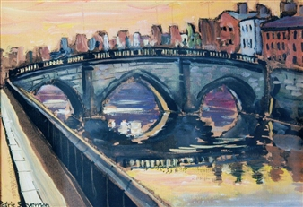 Mellow's Bridge, Dublin By Patric Stevenson