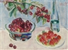 Maria Caspar-Filser, Kirschen und Erdbeeren