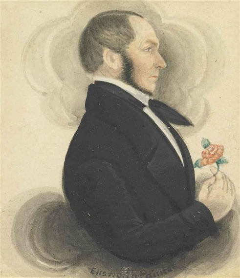 Image result for James Sanford Ellsworth (1802-1874) self portrait
