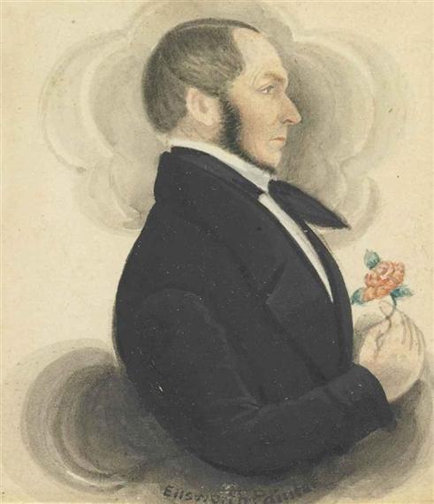 Image result for James Sanford Ellsworth (1802-1874) self portrait