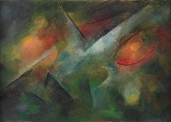 Komposition By Georg Muche ,1916