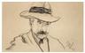 Max Liebermann, Selbstporträt