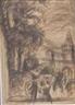 Max Liebermann, City scene with figures