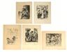 Lovis Corinth, Portfolio of five images