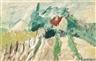 André Lanskoy, Paysage avec une ferme
