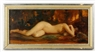 William Keith, Portrait of Mae Hotely in the nude