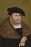 Lucas Cranach the Elder, PORTRAIT OF THE ELECTOR FREDERIC THE WISE IN HIS OLD AGE