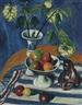 Max Pechstein, Stilleben mit Äpfeln und Schneeball