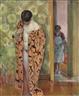 Henri Lebasque, Le Cannet, Le peignoir japonais
